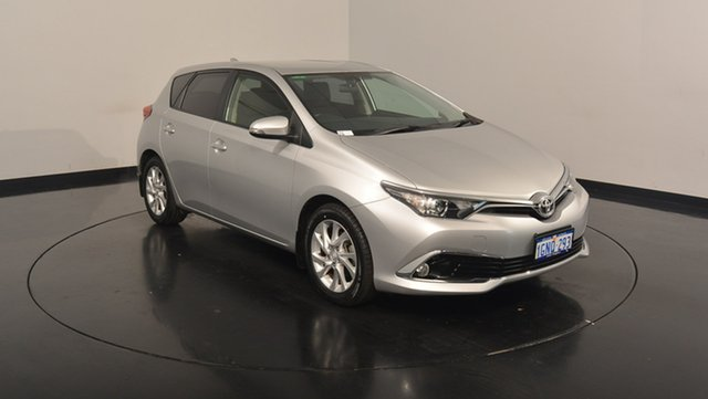 Used Toyota Corolla ZRE182R Ascent Sport S-CVT, 2016 Toyota Corolla ZRE182R Ascent Sport S-CVT Silver 7 Speed Constant Variable Hatchback