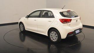 2017 Kia Rio YB MY17 S Clear White 4 Speed Sports Automatic Hatchback.