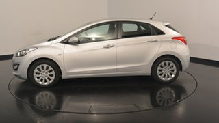 2017 Hyundai i30 GD4 Series II MY17 Active Platinum Silver 6 Speed Sports Automatic Hatchback.
