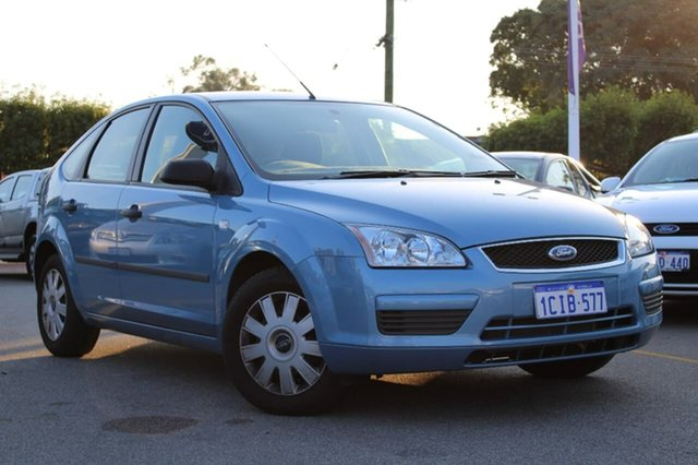 Used Ford Focus LS CL, 2006 Ford Focus LS CL Blue 4 Speed Sports Automatic Hatchback