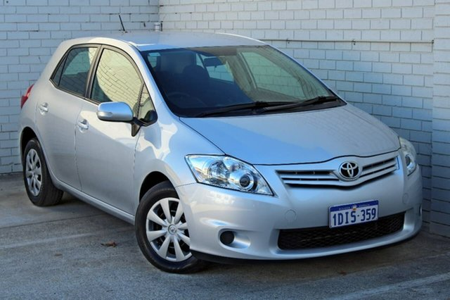 Used Toyota Corolla ZRE152R MY10 Ascent, 2010 Toyota Corolla ZRE152R MY10 Ascent Silver 4 Speed Automatic Hatchback