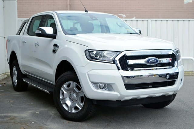 New Ford Ranger PX MkII MY18 XLT Double Cab, 2018 Ford Ranger PX MkII MY18 XLT Double Cab Frozen White 6 Speed Sports Automatic Utility