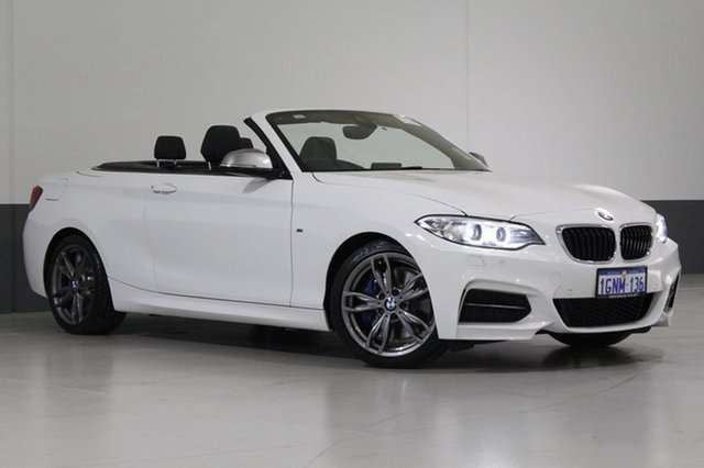 Used BMW 228I F23 MY17 M Sport, 2017 BMW 228I F23 MY17 M Sport White 8 Speed Automatic Convertible