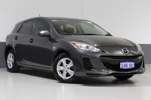 Used Mazda 3 BL 11 Upgrade Neo, 2012 Mazda 3 BL 11 Upgrade Neo Grey 6 Speed Manual Hatchback