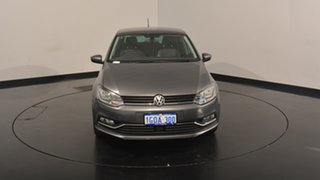 2017 Volkswagen Polo 6R MY17.5 81TSI DSG Urban+ Pepper Grey 7 Speed Sports Automatic Dual Clutch