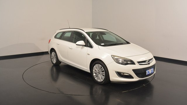 Used Opel Astra AS Sports Tourer, 2013 Opel Astra AS Sports Tourer White 6 Speed Sports Automatic Wagon