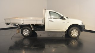 2012 Mitsubishi Triton MN MY12 GL White 5 Speed Manual Cab Chassis