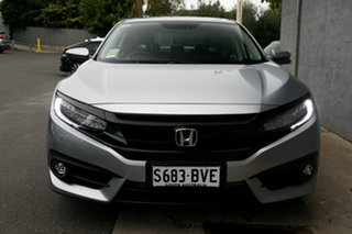 2017 Honda Civic 10th Gen MY16 RS Lunar Silver 1 Speed Constant Variable Sedan.