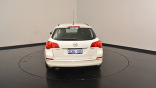 2013 Opel Astra AS Sports Tourer White 6 Speed Sports Automatic Wagon