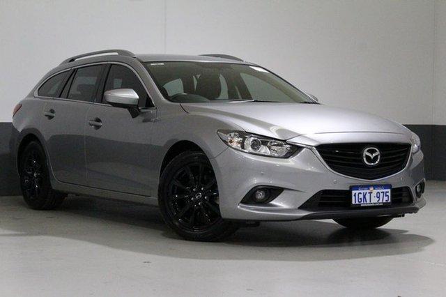 Used Mazda 6 6C MY14 Upgrade Touring, 2014 Mazda 6 6C MY14 Upgrade Touring Aluminium 6 Speed Automatic Wagon