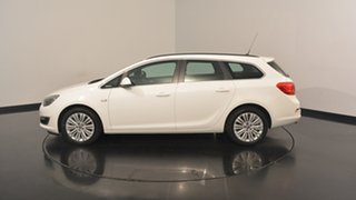 2013 Opel Astra AS Sports Tourer White 6 Speed Sports Automatic Wagon.