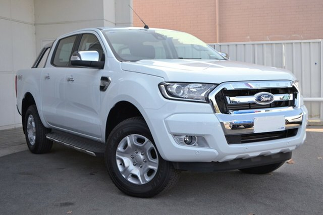 New Ford Ranger PX MkII MY18 XLT Double Cab, 2018 Ford Ranger PX MkII MY18 XLT Double Cab Frozen White 6 Speed Manual Utility