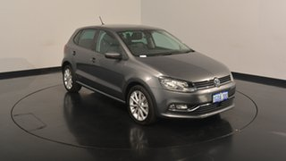 2017 Volkswagen Polo 6R MY17.5 81TSI DSG Urban+ Pepper Grey 7 Speed Sports Automatic Dual Clutch.
