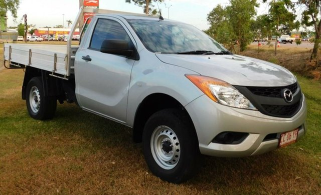Used Mazda BT-50 UP0YF1 XT 4x2 Hi-Rider, 2015 Mazda BT-50 UP0YF1 XT 4x2 Hi-Rider Silver 6 Speed Manual Cab Chassis