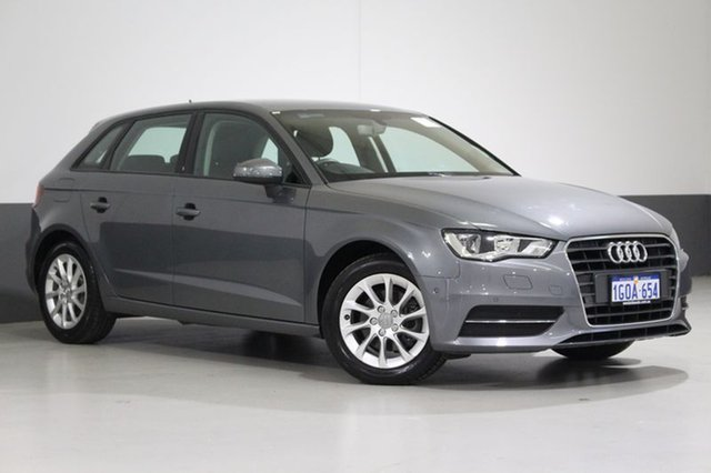 Used Audi A3 8V MY16 Sportback 1.4 TFSI Attraction, 2016 Audi A3 8V MY16 Sportback 1.4 TFSI Attraction Grey 7 Speed Auto Direct Shift Hatchback