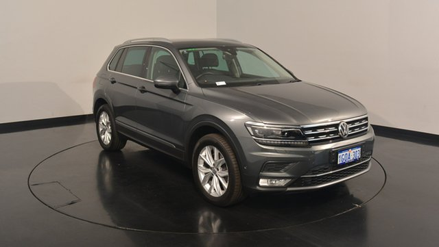 Used Volkswagen Tiguan 5N MY17 162TSI DSG 4MOTION Highline, 2016 Volkswagen Tiguan 5N MY17 162TSI DSG 4MOTION Highline Indium Grey 7 Speed