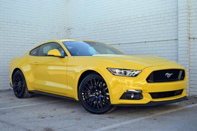 Demo Ford Mustang FM MY17 GT Fastback SelectShift, 2017 Ford Mustang FM MY17 GT Fastback SelectShift Yellow 6 Speed Sports Automatic Fastback