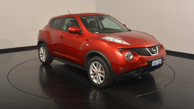 Used Nissan Juke F15 MY14 Ti-S AWD, 2014 Nissan Juke F15 MY14 Ti-S AWD Red 1 Speed Constant Variable Hatchback