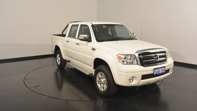 Used ZX Auto Grand Tiger  (4x4), 2014 ZX Auto Grand Tiger (4x4) White 5 Speed Manual Utility