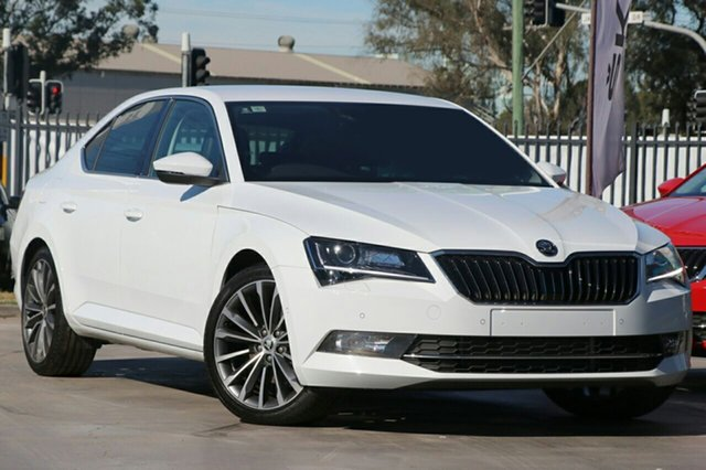 New Skoda Superb NP MY19 206TSI Sedan DSG, 2019 Skoda Superb NP MY19 206TSI Sedan DSG White 6 Speed Sports Automatic Dual Clutch Liftback
