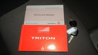 2014 Mitsubishi Triton MN MY15 GL Silver 5 Speed Manual Cab Chassis