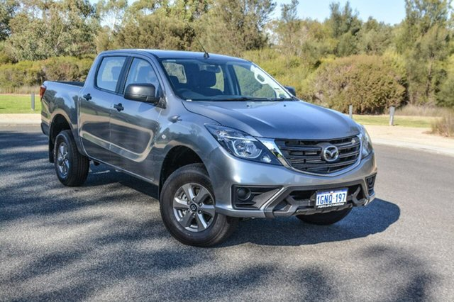 Demo Mazda BT-50 UR0YG1 XT, 2018 Mazda BT-50 UR0YG1 XT Silver 6 Speed Sports Automatic Utility