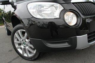 2011 Skoda Yeti 5L 103TDI DSG Black Pearl 6 Speed Sports Automatic Dual Clutch Wagon.