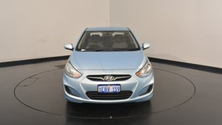 2012 Hyundai Accent RB Active Clean Blue 4 Speed Sports Automatic Sedan