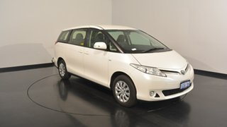 2014 Toyota Tarago ACR50R MY13 GLi White 7 Speed Constant Variable Wagon.