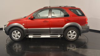 2009 Kia Sorento BL MY08 LX Red 5 Speed Manual Wagon.