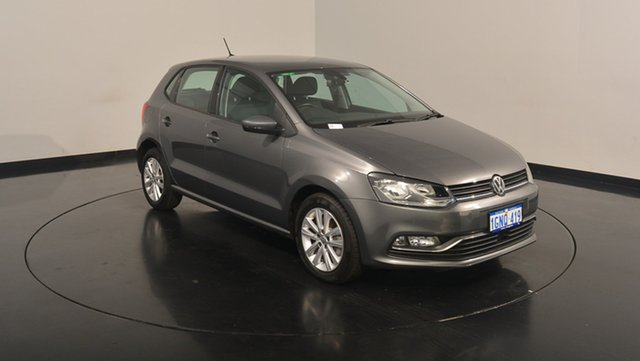Used Volkswagen Polo 6R MY17 81TSI DSG beats, 2016 Volkswagen Polo 6R MY17 81TSI DSG beats Pepper Grey 7 Speed Sports Automatic Dual Clutch