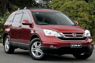 2011 Honda CR-V RE MY2011 Luxury 4WD Habanero Red 5 Speed Automatic Wagon