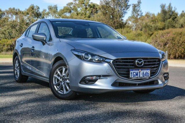 Demo Mazda 3 BN5278 Maxx SKYACTIV-Drive Sport, 2018 Mazda 3 BN5278 Maxx SKYACTIV-Drive Sport Silver 6 Speed Sports Automatic Sedan