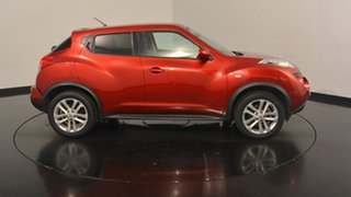 2014 Nissan Juke F15 MY14 Ti-S AWD Red 1 Speed Constant Variable Hatchback