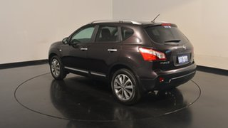 2012 Nissan Dualis J10 Series II MY2010 Ti X-tronic AWD Black 6 Speed Constant Variable Hatchback.