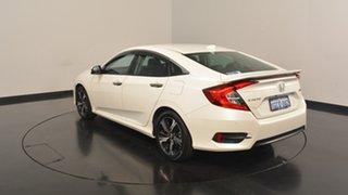 2016 Honda Civic 10th Gen MY16 RS White 1 Speed Constant Variable Sedan.