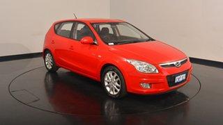 2008 Hyundai i30 FD SLX Shine Red 4 Speed Automatic Hatchback