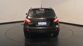 2012 Nissan Dualis J10 Series II MY2010 Ti X-tronic AWD Black 6 Speed Constant Variable Hatchback