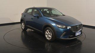 2017 Mazda CX-3 DK2W7A Maxx SKYACTIV-Drive Sky Blue 6 Speed Sports Automatic Wagon.