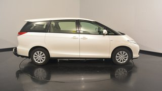 2014 Toyota Tarago ACR50R MY13 GLi White 7 Speed Constant Variable Wagon