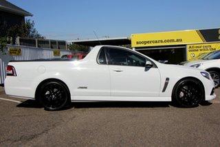 2014 Holden Ute VF MY15 SS V Ute Redline White 6 Speed Manual Utility.