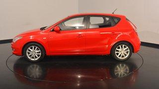 2008 Hyundai i30 FD SLX Shine Red 4 Speed Automatic Hatchback.