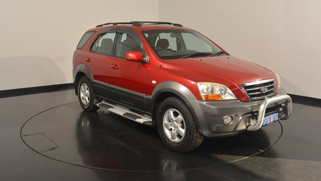 Used Kia Sorento BL MY08 LX, 2009 Kia Sorento BL MY08 LX Red 5 Speed Manual Wagon