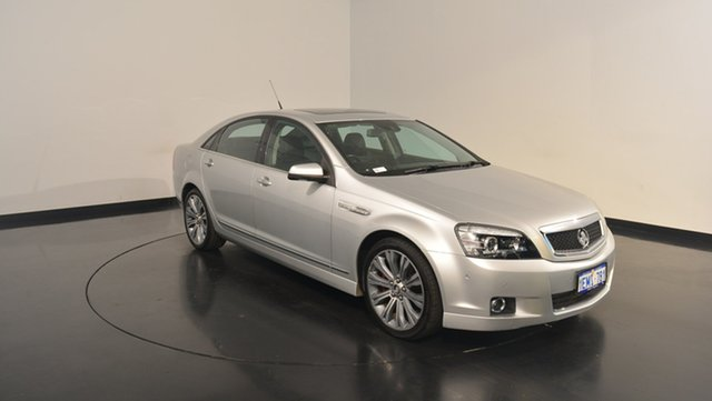 Used Holden Caprice WN MY14 V, 2014 Holden Caprice WN MY14 V Silver 6 Speed Sports Automatic Sedan