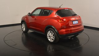 2014 Nissan Juke F15 MY14 Ti-S AWD Red 1 Speed Constant Variable Hatchback.