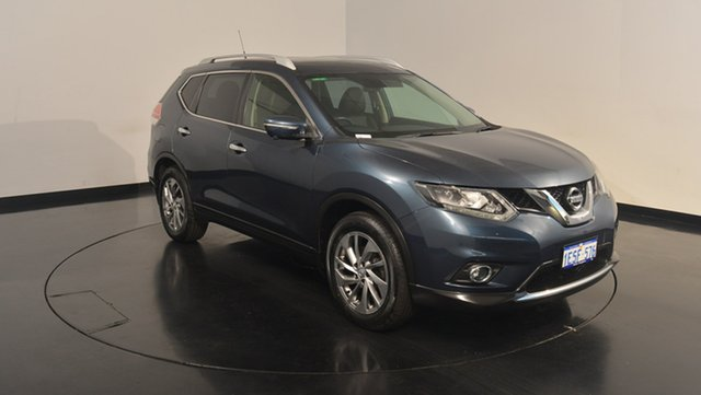 Used Nissan X-Trail T32 Ti X-tronic 4WD, 2014 Nissan X-Trail T32 Ti X-tronic 4WD Blue 7 Speed Constant Variable Wagon