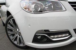 2014 Holden Calais VF MY14 V Heron White 6 Speed Sports Automatic Sedan.