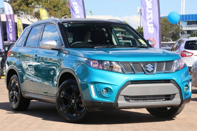 New Suzuki Vitara LY S Turbo 2WD, 2018 Suzuki Vitara LY S Turbo 2WD Turquoise/Black Roof 6 Speed Sports Automatic Wagon