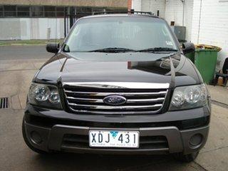 2007 Ford Escape ZC XLS Black Mica 4 Speed Automatic Wagon.