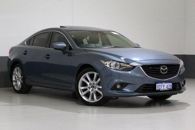 Used Mazda 6 6C Atenza, 2013 Mazda 6 6C Atenza Blue 6 Speed Automatic Sedan